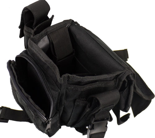 SECURITY Hip Bag Gürteltasche Bauchtasche Tasche Beintasche Beutel Etui Koppel