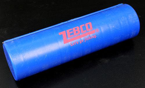 ZEBCO Vorfachbox rund 12 Neopren Vorfachaufwickler3333